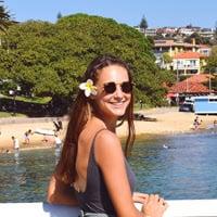 Julia loving her internship in Sydney